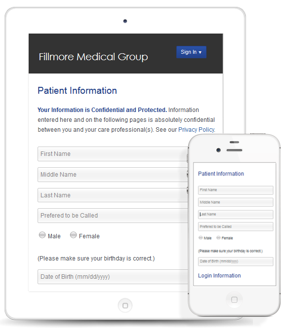 Free Online Patient Forms and HIPAA-Compliant Email
